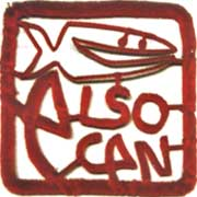 alsocan architects logo by Kate Beynon, artist