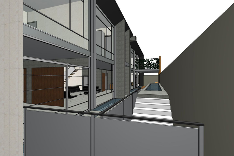 apartment development 3D view