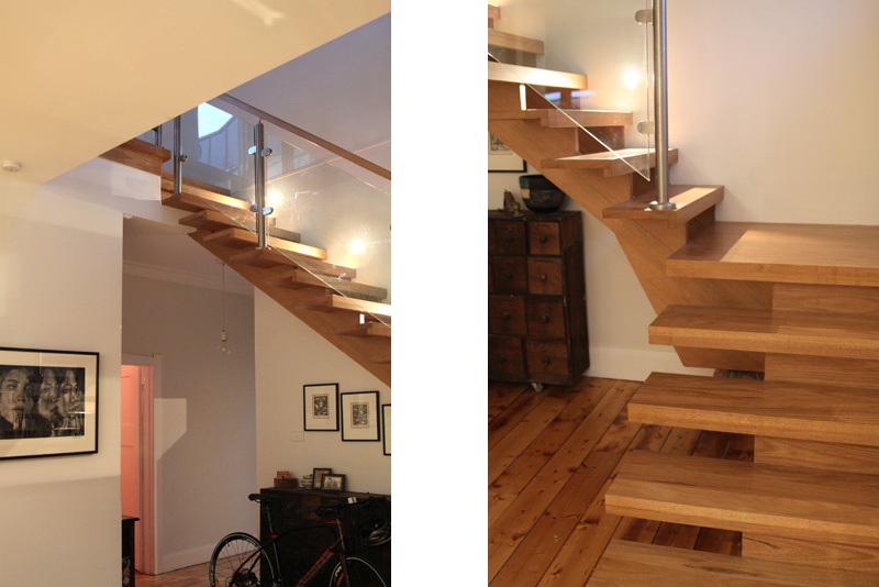 timber stair