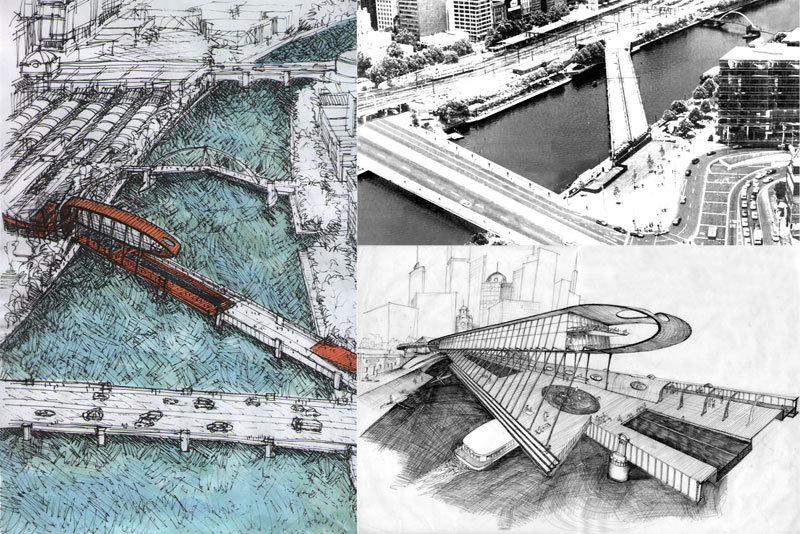 Sandridge Bridge competition entry
